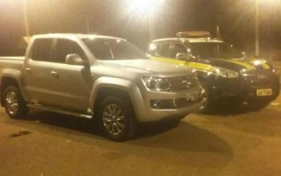 Camionete de luxo roubada em Diadema é recuperada pela PRF de Três Lagoas