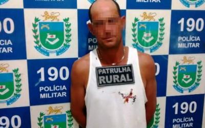 Após policiamento em assentamento, Patrulha Rural prende vaqueiro que bateu na esposa