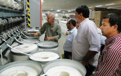 Vereadores vistoriam fábricas que solicitaram cessão de área para ampliação