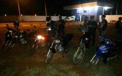 Mais de 15 motos são arpeendidas em blitz feita na região do Novo Oeste