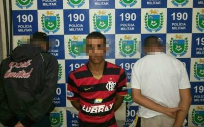 Dois menores estavam envolvidos em assalto na região central da cidade