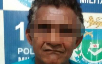 Homem de 53 anos é preso sob acusação de tráfico de drogas