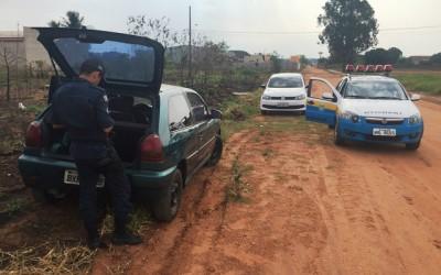 Polícia recupera Gol que foi furtado na frente de borracharia