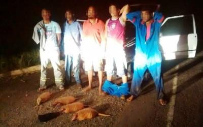 Trabalhadores da BA que residem em Três Lagoas são presos por crime ambiental