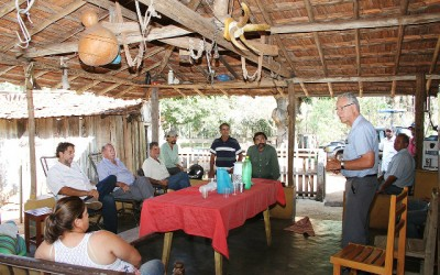 Distrito de Arapuá poderá ganhar fábrica de azeite de girassol