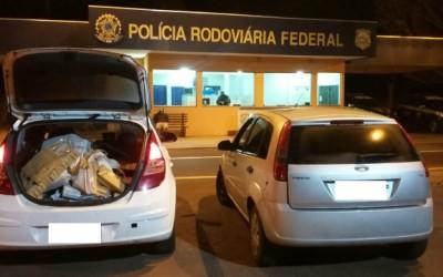 PRF de Três Lagoas prende cinco integrantes de organização criminosa e intercepta 290 kg de maconha
