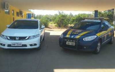 Vigilante compra carro clonado e acaba detido pela PRF em Água Clara