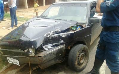 Motorista sem CNH causa acidente e foge sem prestar socorro