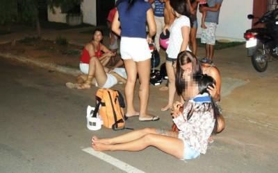Acidente no Santos Dumont deixa duas pessoas da mesma família feridas