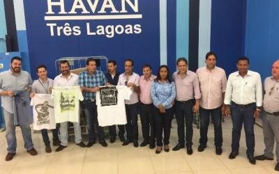Eduardo Rocha intercede e Havan faz doações a Desafio Jovem Peniel
