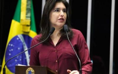 Simone é favorável à abertura de impeachment de Dilma Rousseff