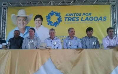 Guerreiro e Paulo Salomão oficializam pré candidatura a prefeitura de Três Lagoas