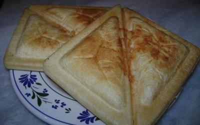 Receita do dia: Pão de queijo na sanduicheira