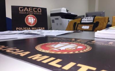Em coletiva, detalhes de operação do GAECO são informadas