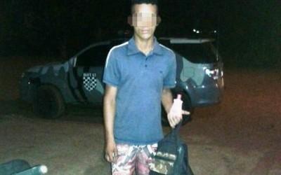 Ladrão de gás que furtou o próprio tio é preso no Paranapungá