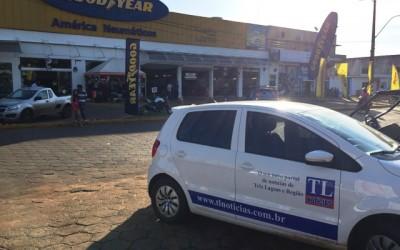 Equipe do TL Notícias registra evento e fecha parceria com lojas no Paraguay