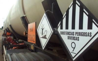 Carreta que saiu de Três Lagoas com biodiesel ilegal é apreendida pela PMA