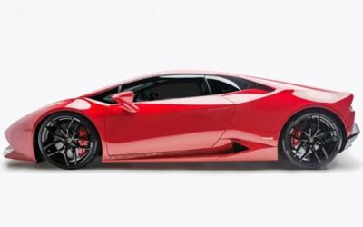 UR divulga imagens da Lamborghini Huracan biturbo