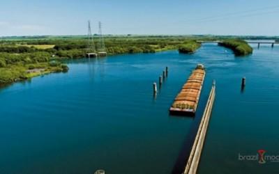 Navegação na Tietê-Paraná volta em fevereiro, se a chuva colaborar