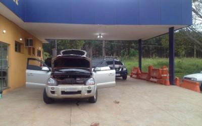 PRF recupera em Três Lagoas veículo de luxo roubado na capital paulista