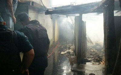 Idosa de 74 anos é acusada de ter incendiado condomínio no Santos Dumont