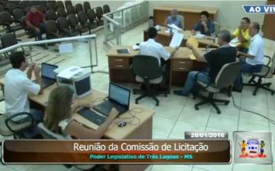 Câmara realiza pregões presenciais e planejamento para 2016