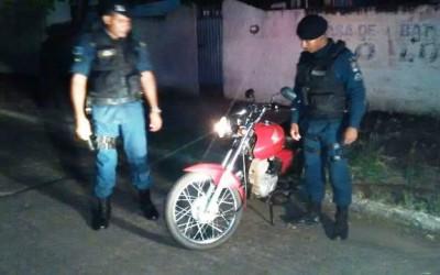 Denúncia Anônima leva Polícia Militar a apreender moto no bairro Colinos