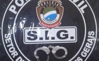 SIG continua com operação contra os furtos em residências e esclarece mais um crime
