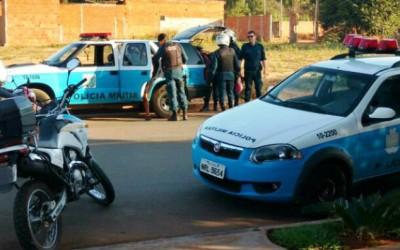 Acusado de ter praticado roubo é preso pela Polícia Militar