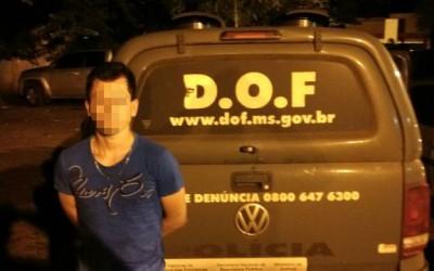 DOF em Ponta Poarã preende quase 5 quilos de cocaína