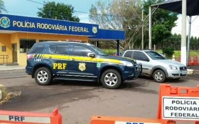 Paulistas são presos com carro que foi furtado na cidade de São José do Rio Preto