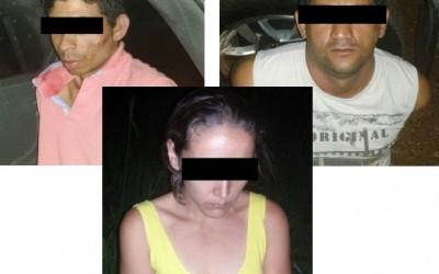 Três-lagoenses são presos após homicídio em Itapura-SP