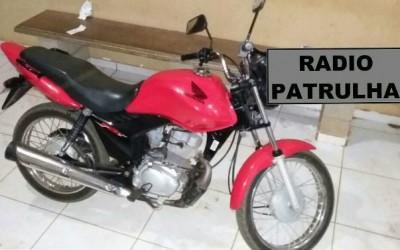 Moto furtada é encontrada na região de uma boate em Três Lagoas