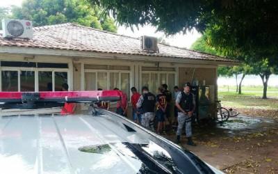 Polícia Militar realiza abordagem depois de suposta tentativa de assalto