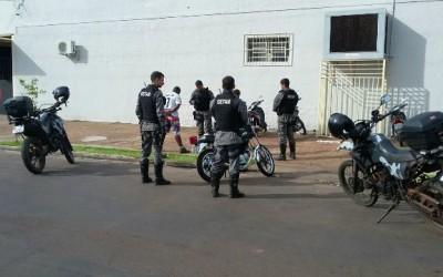 Ação do GETAM resulta na apreensão de moto na área central