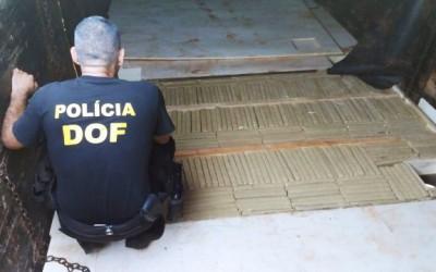 Em 40 dias, DOF apreende quase 11 toneladas de maconha na fronteira