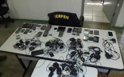 Agepen realiza operação pente-fino na Penitenciária de Três Lagoas