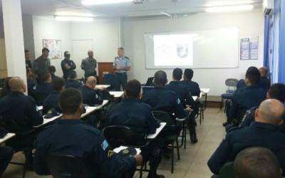 Policiais Militares recebem treinamento de Controle de Distúrbios Civis