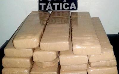 Droga que seria entregue em Três Lagoas é interceptada em Fátima do Sul
