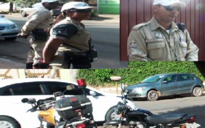 Agentes do Deptran recuperam moto furtada neste domingo em Três Lagoas