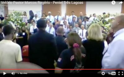 Assista ao vivo o velório do Pastor Marcos da Igreja Peniel