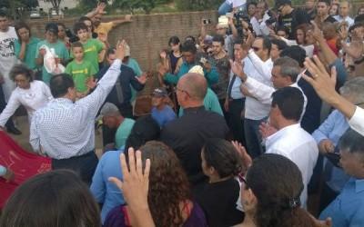 Emoção e fé na despedida do pastor Marcos Rogério