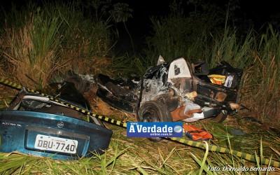 Acidente mata 6 e deixa várias vítimas feridas em Andradina