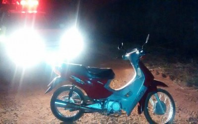 Rádio Patrulha recupera moto que foi furtada neste domingo em Três Lagoas