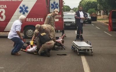Acidente no Vila Nova interdita via para resgate de vítima