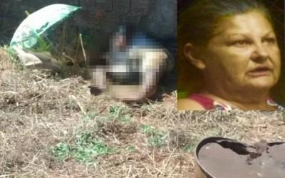 Mulher encontrada morta em terreno baldio estava desaparecida há dois dias