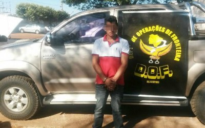 Camionete de luxo de Três Lagoas é apreendida na região de fronteira