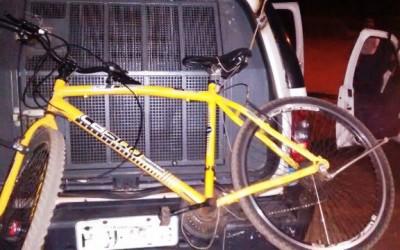 Criança de 11 anos é apreendida com bicicleta roubada