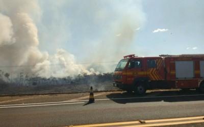 Bombeiros iniciam campanha de conscientização contra queimadas em Três Lagoas