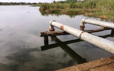 Bombas de casa de máquina da lagoa são furtadas e moradores temem por alagamentos na região